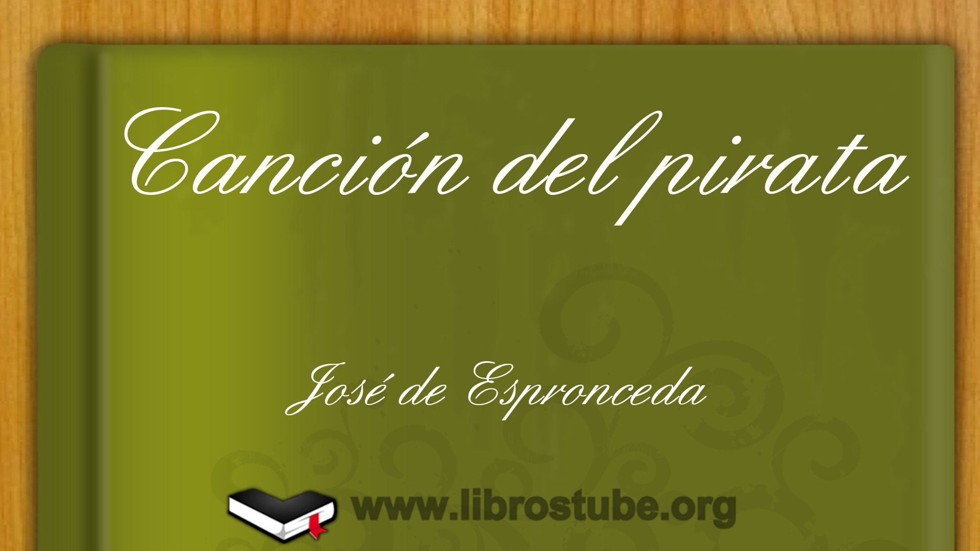 Canción del pirata, de José de Espronceda
