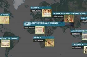 Libros, fotografías, mapas y manuscritos gratuitos en la Biblioteca Digital Mundial
