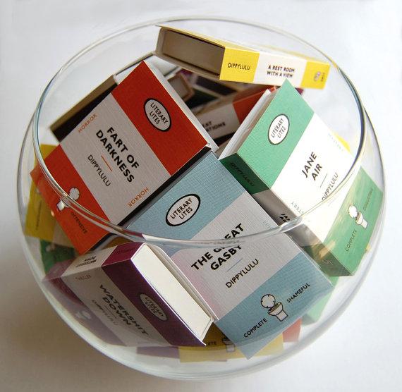 Cajas de cerillas originales