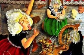 Cuento infantil: Las tres hilanderas