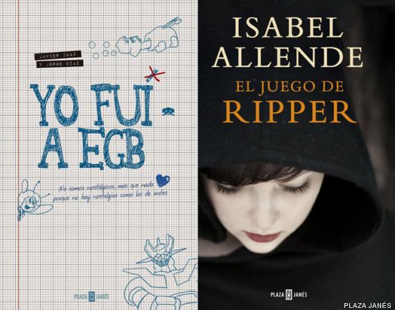 Los libros más vendidos en 2014
