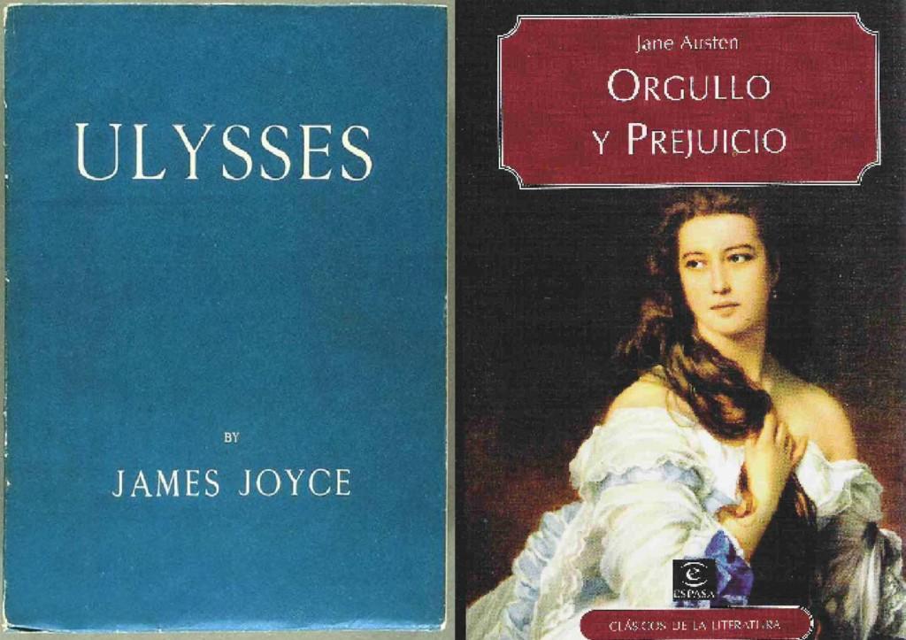 Ulises y Orgullo y prejuicio