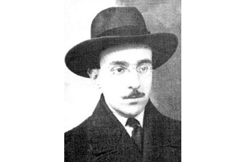 El poeta portugués Fernando Pessoa